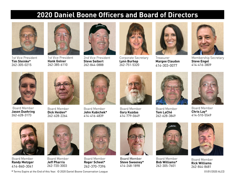 Officers and Board Members